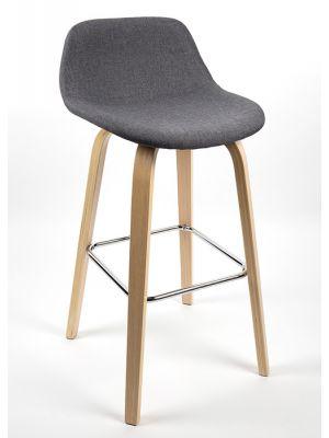 houten design kruk | bestbudgetkantoormeubelen.nl