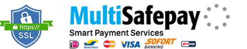 Veilig betalen met MultiSafepay & SSL verbinding